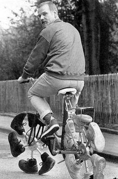 Sko cykle.