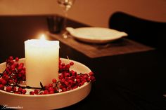 #Sarjaton - Autumn candle light dinner