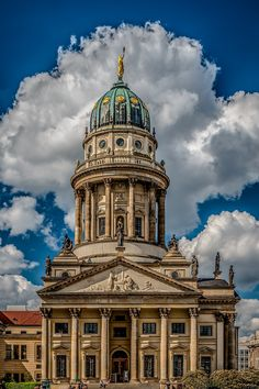 ღღ The French Cathedral in Berlin on Gendarmenmakt by Frank Haase