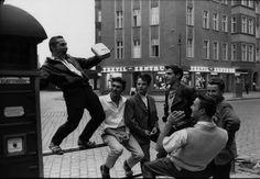 Elvis Presley fans in East Berlin, 1960 by Robert Lebeck