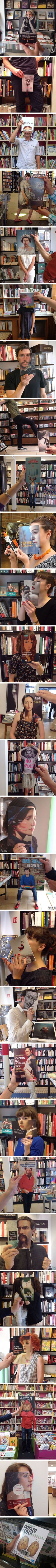 When People Match Their Books A Little Too Well