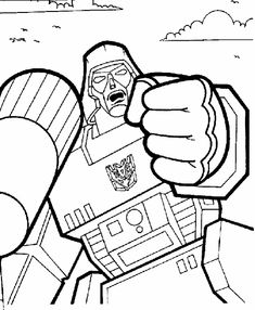 Transformers Was Shot Very Good Coloring Page Transformer