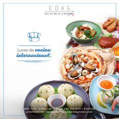 Ven a probar los sabores del mundo en EDAG info@edag.edu.mx