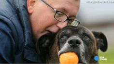 DOLLY HEROES Homeless man and beloved dog reunite thanks to help from strangers! Moving story with must-see video ❤ Dolly