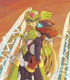 Megaman Zero - Harpuia rescue Zero