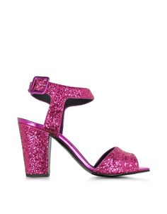 GIUSEPPE ZANOTTI DESIGN WOMEN'S E60282001 FUCHSIA GLITTER SANDALS. SANDALS GIUSEPPE ZANOTTI DESIGN, GLITTER 100%, color FUCHSIA, Heel 95mm, Leather sole, SS16, product code E60282001. If you buy 9 US size shoes, you may receive shoes with 8 UK or 42 EU size printed on the box and on the shoes. SIZE CHART MAN: (US6 EU39 UK5) (US6.5 EU39.5 UK5.5) (US7 EU40 UK6) (US7.5 EU40.5 UK6.5) (US8 EU41 UK7) (US8.5 EU41.5 UK7.5) (US9 EU42 UK8) (US9.5 EU41.5 UK8.5) (US10 EU43 UK9) (US10.5 EU43.5 UK9.5)...