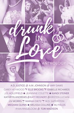 Cover Reveal - Drunk In Love Anthology   Cover Design: Jena Brignola Release Date: March 13th   Synopsis  A glittering diamond the promise of forever and the hope that your future in-laws will move to a galaxy far far awaysounds like a decadent recipe for eternal happiness doesnt it? All girls dream about their wedding day fantasize about each and every gooey-delicious detail. Its so easy to get scooped by the champagne bubbles and swallowed by our dreams.  But we all know the magical path…