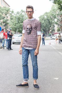black shoes | #fashion #streetstyle | http://lkl.st/1DkzZ0Y | See more on https://www.lookli.st #Looklist