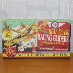 Pair Of Wooden Vintage Planes