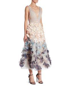 b82efc51ab Marchesa Notte - Ombre Flutter Dress
