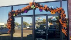 A fun way to decorate the office for Halloween!