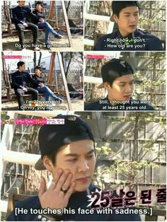 Hahshahahahaha i can't with his face omg you are still handsome don't worry #Jackson #Got7