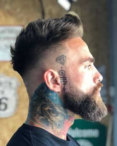 Long Beard Styles, Beard Styles For Men, Hair And Beard Styles, Short Hair Styles, Short Hair And Beard, Beards And Hair, Men Hair Styles, Viking Beard Styles, Mens Hairstyles With Beard
