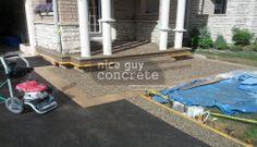 Exposed Aggregate, A Good Man, Concrete, Guy, Patio, Nice, Outdoor Decor, Home Decor, Decoration Home