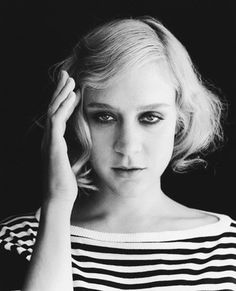 Chloe Sevigny. Not your typical cookie cutter beauty, love her style and she looks amazing in this pic!
