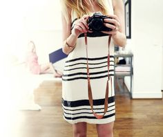 Style...Camilla Pihl // stripes and pearls
