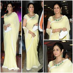 Yay or Nay : Sridevi's saree look at an engagement party