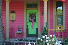 "House & Home of Sandra Cisneros ""a space for myself to go, clean as paper before the poem"" - The House on Mango Street The House On Mango Street, Sandra Cisneros, Great Pictures, San Antonio, Sweet Home, To Go, Outdoor Structures, Nice, Outdoor Decor"