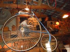 One of the earliest bicycles at the  St. Augustine History Museum