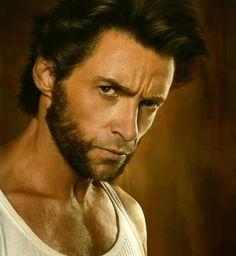 Wolverine...not really Hugh Jackman, more so the cigar smoking, side burn having, generating counterpart.
