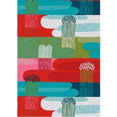 "Marimekko fabric - ""Jokiuoma"""