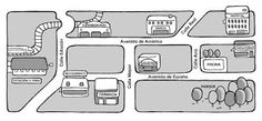 Mapa del pueblo