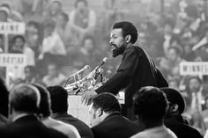 """""""Amiri Baraka, a poet and playwright of pulsating rage, whose long illumination of the black experience in America was called incandescent in some quarters and incendiary in others, died on Thursday in Newark. He was 79."""" - NY Times Amiri Baraka, Black Arts Movement, Frederick Douglass, Playwright, Essayist, The New Yorker, Black Power, Adult Children, Soldering"""