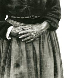 "Saatchi Online Artist: Sue Bryan; Charcoal, Drawing ""Matriarch"""