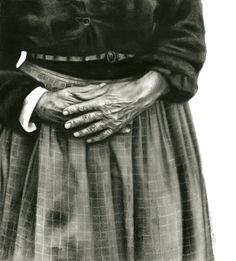 "Saatchi Online Artist: Sue Bryan; Charcoal, Drawing ""Matriarch"""