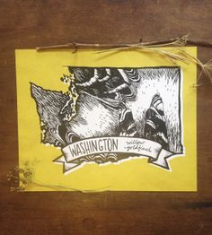 Washington State Bird print- 8x10 print- Willow Goldfinch- FREE SHIPPING