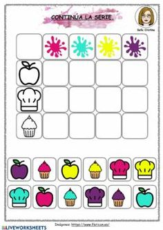 Tabla doble entrada Language: Spanish Grade/level: infantil/primaria School subject: Audición y Lenguaje (AL) Main content: Atención Other contents: Coding For Kids, Math For Kids, Crafts For Kids To Make, Portuguese Lessons, Puppet Crafts, Preschool Learning Activities, Montessori Materials, School Subjects, Exercise For Kids