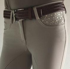 Pantalon d'équitation Femme Rock Beige IAGO