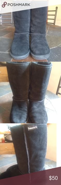 ba389056 BearPaw Black Boots size 7 These boots are in Great condition BearPaw size  7. Great