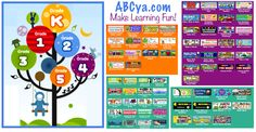 50+ Free Interactive Games for Elementary - Kleinspiration