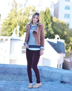 How To Layer With Amanda Of Advice From A Twenty Something | theglitterguide.com