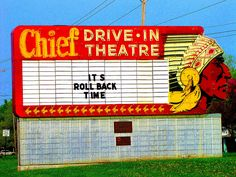 Chief Drive-In Theater    		- Topeka, Kansas