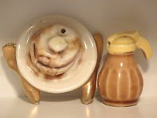 Arcadia Miniature Pancakes and Syrup Salt & Pepper Shakers