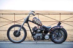 SPICE MOTORCYCLE / ハーレーダビッドソン 1946 WL プロが造るカスタム 【STREET-RIDE】ストリートバイク ウェブマガジン