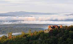Your head will be in the clouds when you click on the photo for cheap flights to New Hampshire.