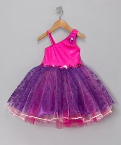 Take a look at this Purple Dusk Fantasy Dance Dress - Toddler  by Pretty Chic on #zulily today!