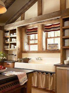 Rustic Kitchen design