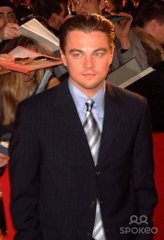 LEONARDO DICAPRIO at the German premiere of ' The Aviator ' Berlin, Germany-07.01.05