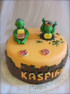 Turtles cake :D