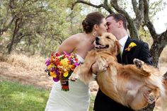 they have to be there...this would so be like my wedding but I'd probably have like 4 dogs :)