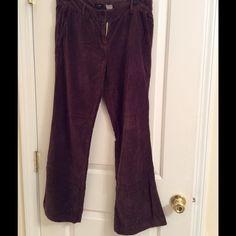 JCrew Brown Soft Pants City fit, velour feel. J. Crew Pants