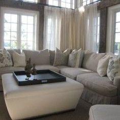 so cozy...love oversized furniture!