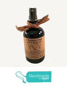 All Natural Chicken Coop Spray made with pure essential oils including lavender rosemary neem geranium eucalyptus mint spray. Free Shipping! from Crows Nest Primitive https://www.amazon.com/dp/B01N2W9CJS/ref=hnd_sw_r_pi_dp_UICnzbKWZKH18 #handmadeatamazon