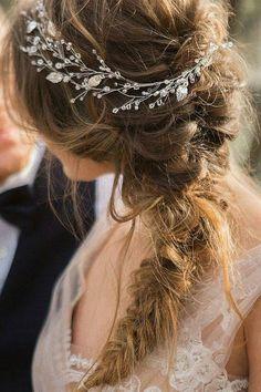 Braided Wedding Hair Ideas You Will Love ❤ See more: http://www.weddingforward.com/braided-wedding-hair/ #weddingforward #bride #bridal #wedding
