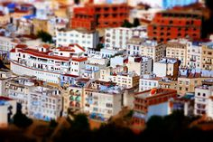 Chefchaouen - Tilt-Shift by Lost and Found Travel, via Flickr
