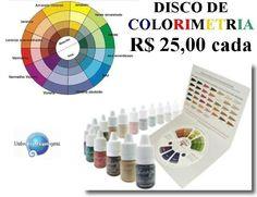 disco de colorimetria - printable